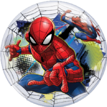 "Spider-Man Bubble Balloon (22"") 1pc"